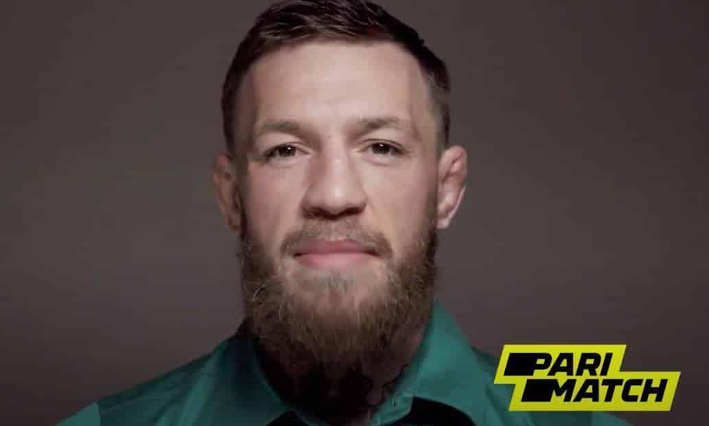 Conor McGregor - official brand ambassador of Parimatch